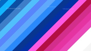 Pink and Blue Diagonal Stripes Background Vector Graphic