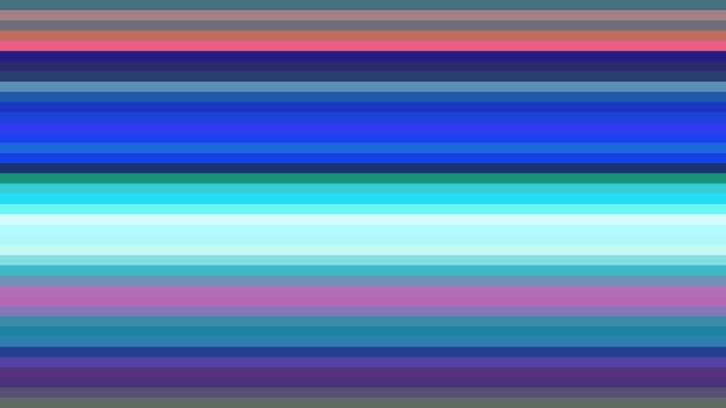 Pink and Blue Horizontal Stripes Background Vector Image