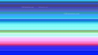 Pink and Blue Horizontal Stripes Background