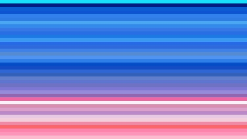 Pink and Blue Horizontal Stripes Background Vector Illustration