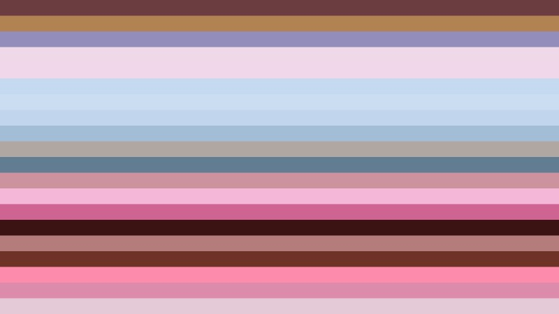 Pink and Blue Horizontal Striped Background