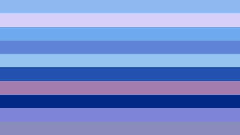 Pink and Blue Stripes Background Illustration