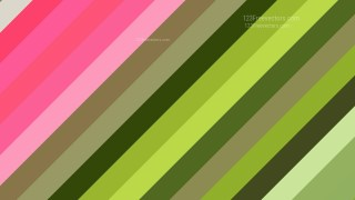 Pink and Green Diagonal Stripes Background Image