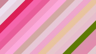 Pink and Green Diagonal Stripes Background