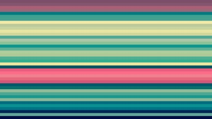 Pink and Green Horizontal Stripes Background Vector