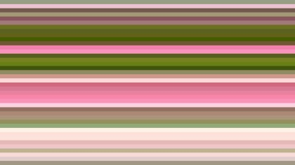 Pink and Green Horizontal Stripes Background Illustration