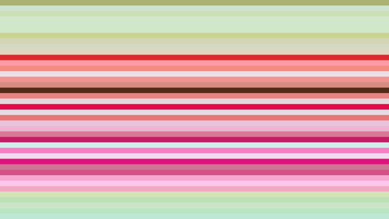 Pink and Green Horizontal Stripes Background Vector Graphic