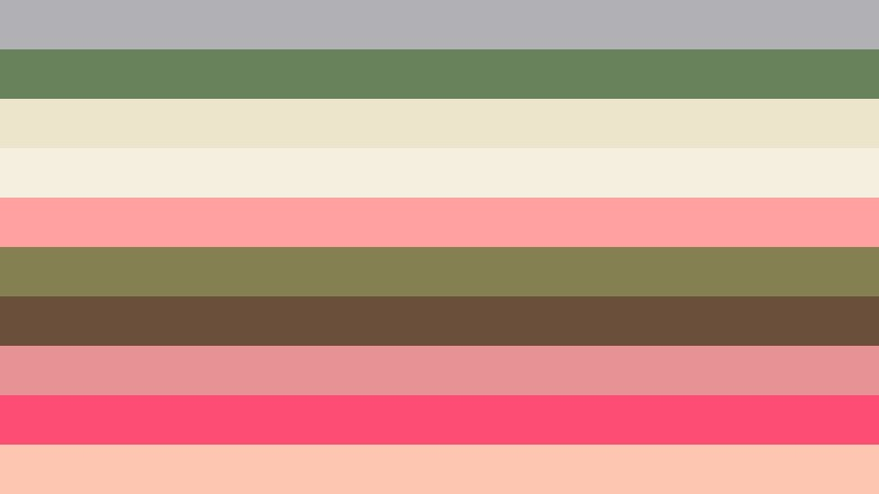 Pink and Green Stripes Background