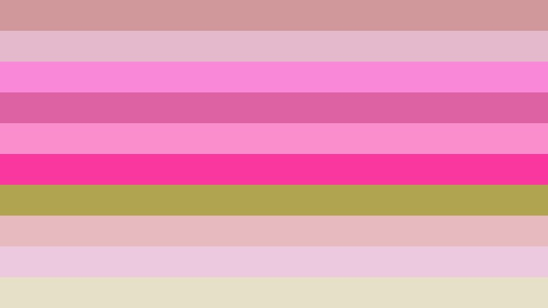 Pink and Green Stripes Background Vector Illustration