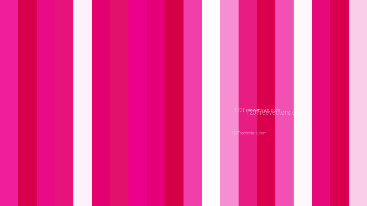 Pink And White Striped Background Vector Art
