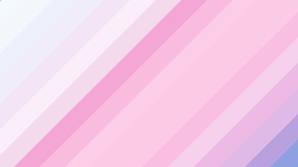 Pink and White Diagonal Stripes Background