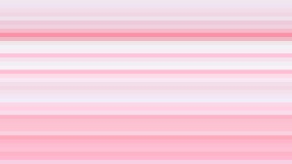 Pink and White Horizontal Stripes Background Illustrator