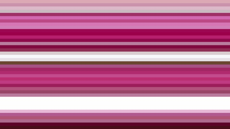 Pink and White Horizontal Stripes Background