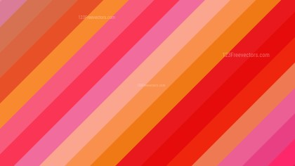 Pink and Yellow Diagonal Stripes Background Design