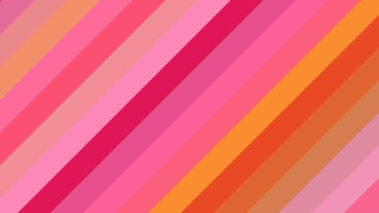 Pink and Yellow Diagonal Stripes Background