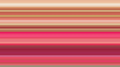 Pink and Yellow Horizontal Stripes Background Vector Graphic