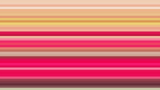 Pink and Yellow Horizontal Stripes Background Vector Image