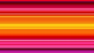 Pink and Yellow Horizontal Stripes Background