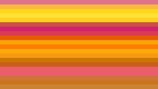 Pink and Yellow Horizontal Striped Background Vector
