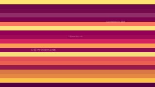 Pink and Yellow Horizontal Striped Background