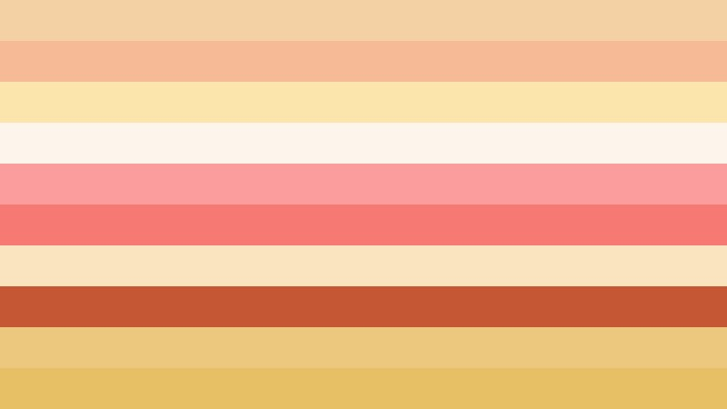 Pink and Yellow Stripes Background Illustration