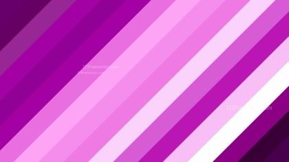 Purple Diagonal Stripes Background