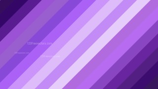 Purple Diagonal Stripes Background Design