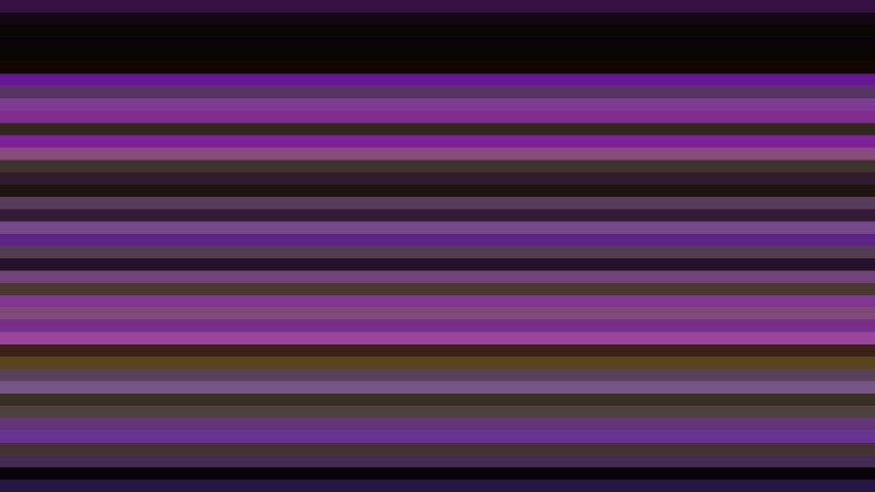 Purple and Black Horizontal Stripes Background Vector Illustration