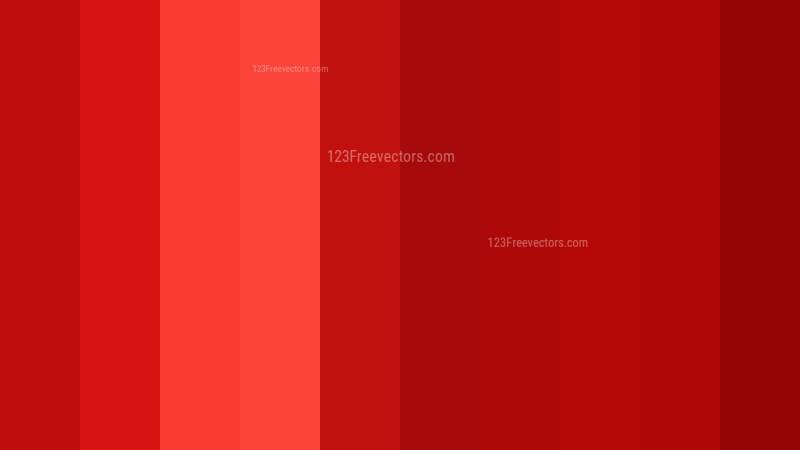 Red Vertical Stripes Background Vector Illustration