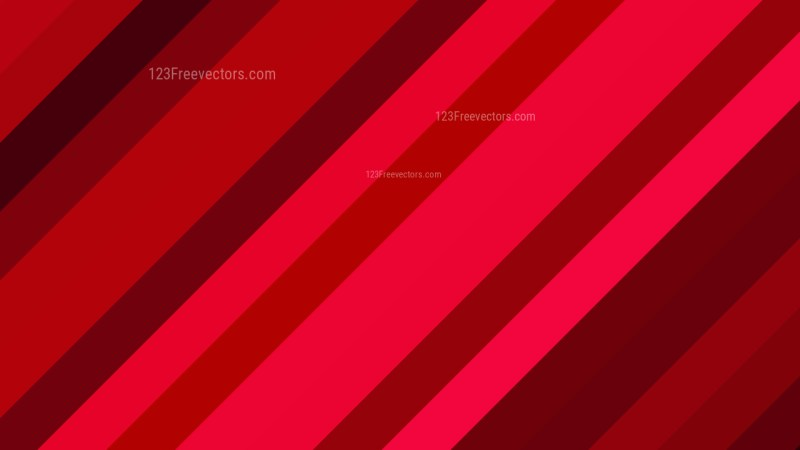 Red Diagonal Stripes Background Design