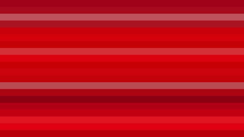 Red Horizontal Striped Background