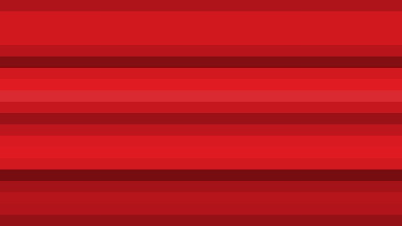 Red Horizontal Striped Background Vector Art