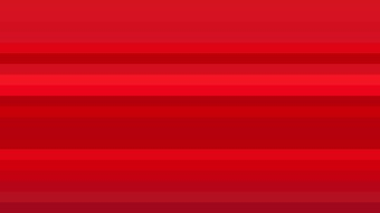 Red Horizontal Striped Background Illustration
