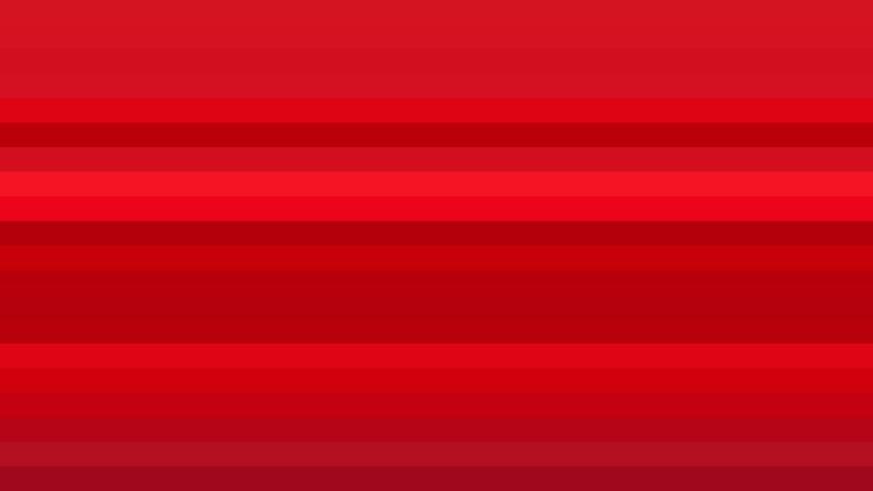 Red Horizontal Striped Background Illustration