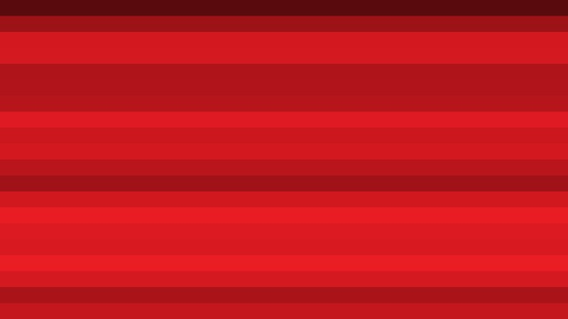 Red Horizontal Striped Background Vector Image