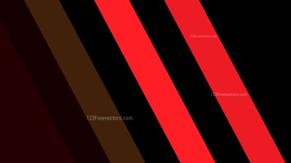 Cool Red Diagonal Stripes Background Vector Art