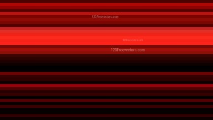 Cool Red Horizontal Stripes Background Vector