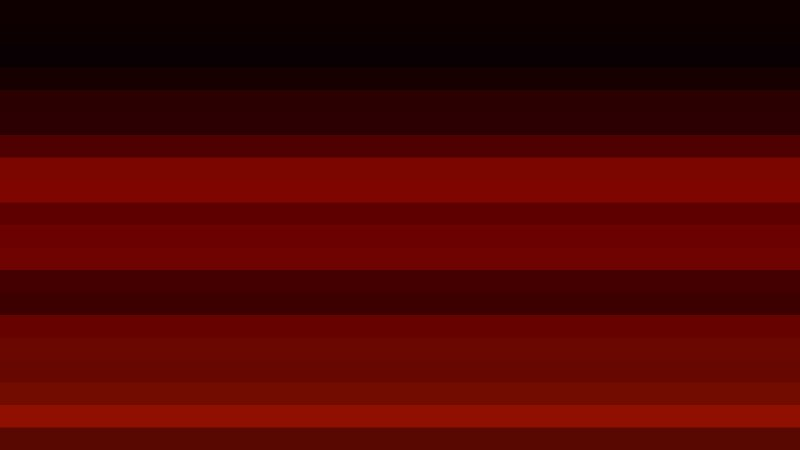 Red and Black Horizontal Striped Background Vector Image