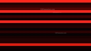 Cool Red Horizontal Striped Background Vector Illustration