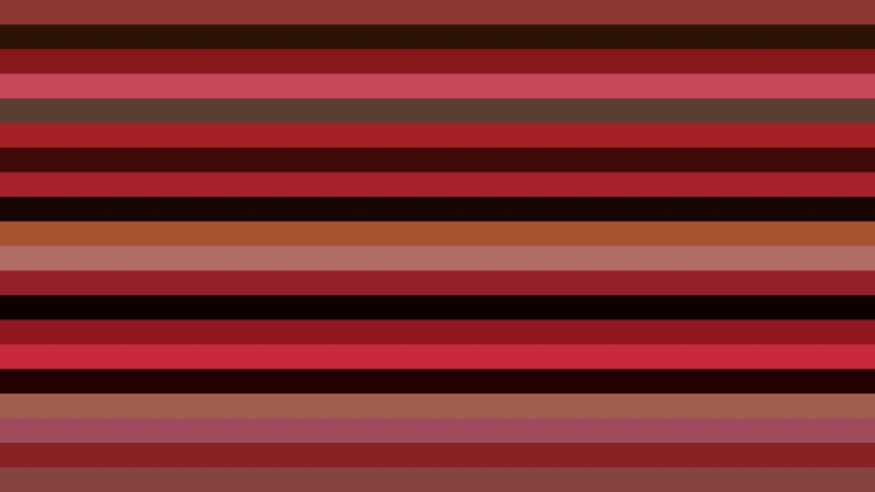 Red and Black Horizontal Striped Background Vector