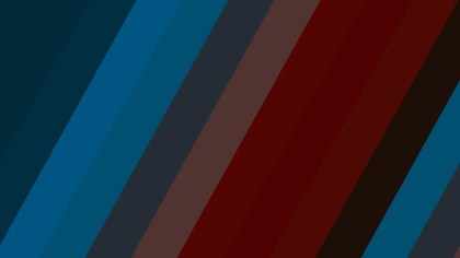Red and Blue Diagonal Stripes Background Vector Art
