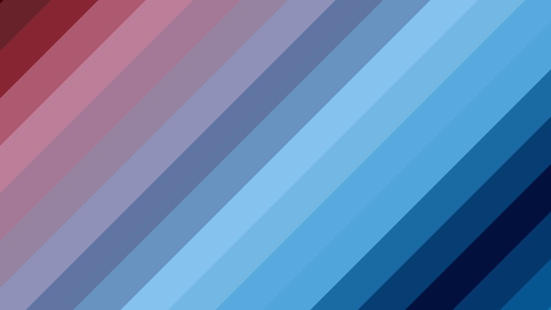 Red and Blue Diagonal Stripes Background Design