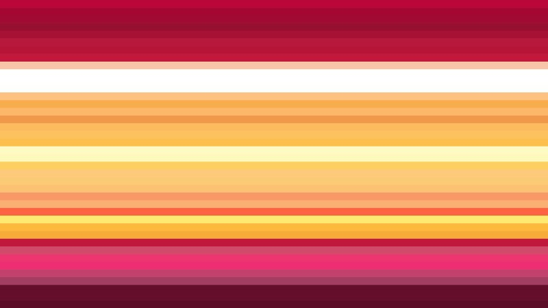 Red and Orange Horizontal Stripes Background Graphic