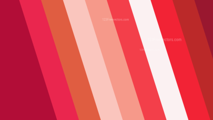 Red and White Diagonal Stripes Background
