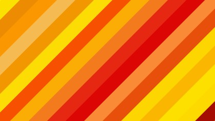 Red and Yellow Diagonal Stripes Background Design
