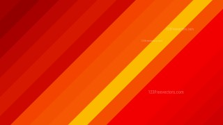 Red and Yellow Diagonal Stripes Background