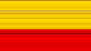 Red and Yellow Horizontal Stripes Background Vector Image