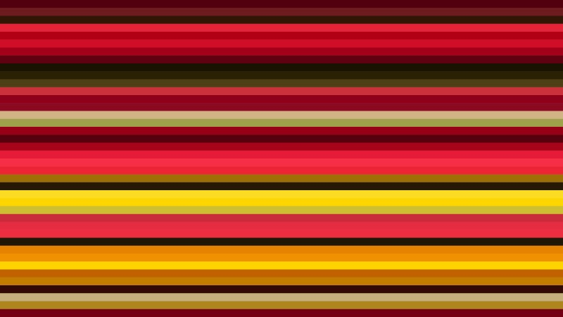Red and Yellow Horizontal Stripes Background