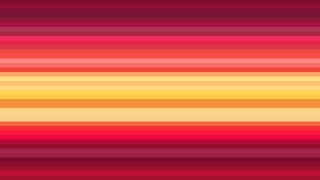 Red and Yellow Horizontal Stripes Background Vector Illustration