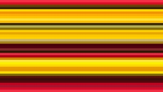 Red and Yellow Horizontal Stripes Background Vector